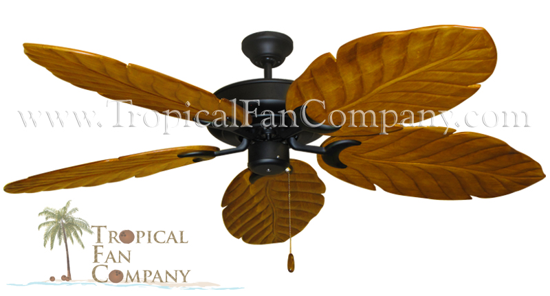 Raindance Abor Ceiling Fans with 100 Oak Arbor Blades