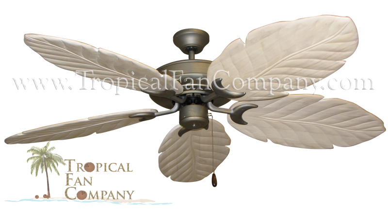 Raindance Ceiling Fan with Whitewash Arbor Blades