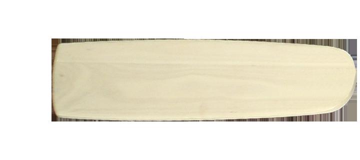 Arbor 425 Whitewash - 52 inch hand crafted wood blade