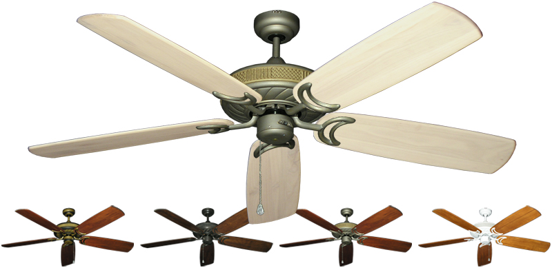 60 Inch Atlantis Outdoor Ceiling Fan Arbor 450 Solid