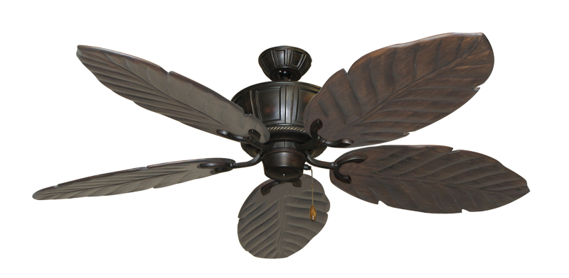 58 Inch Centurion Tropical Outdoor Ceiling Fan With Arbor