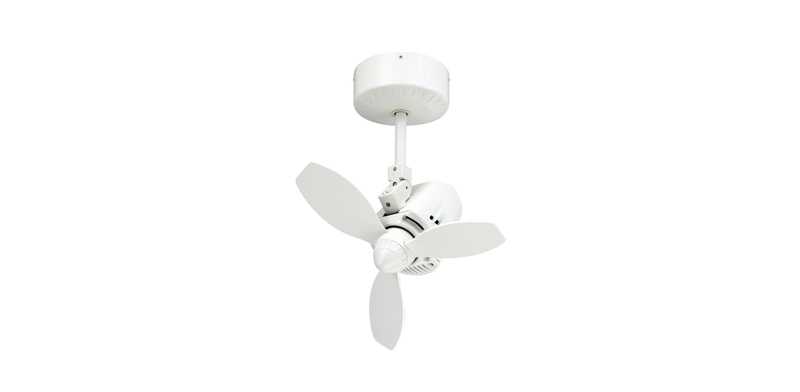 18 inch Mustang Single Oscillating Ceiling Fan by TroposAir