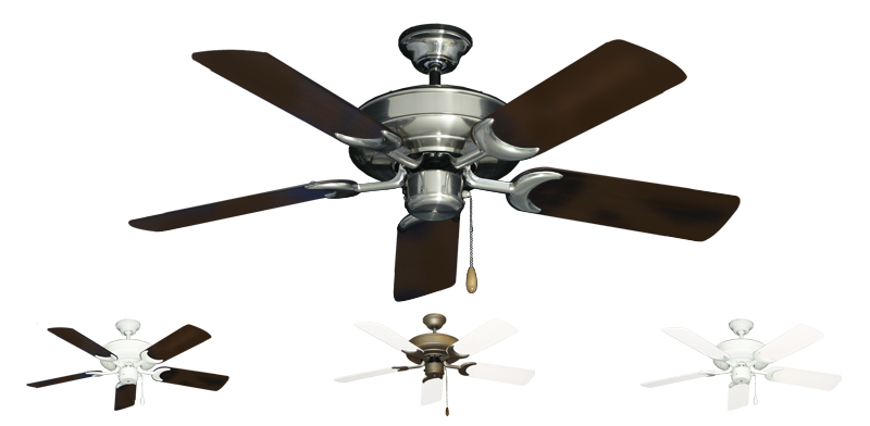44 Inch Raindance Outdoor Small Ceiling Fan