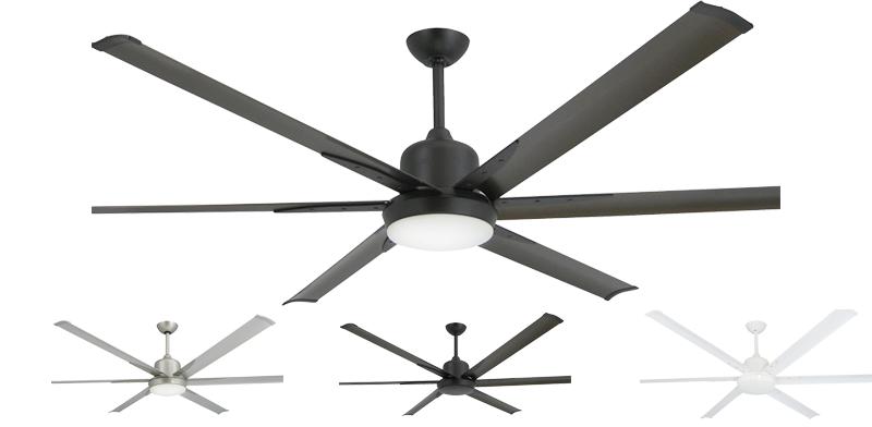 72 inch Titan Ceiling Fan by TroposAir