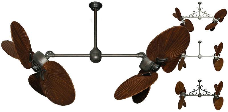 50 Inch Twin Star Iii Double Ceiling Fan Arbor 900 Blades