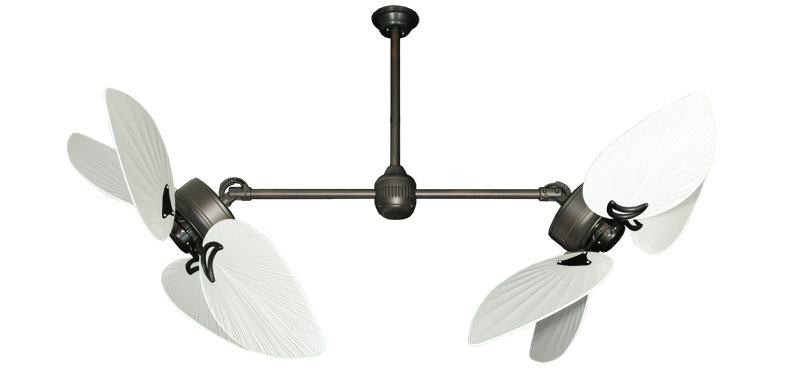 50 Inch Twin Star Iii Double Ceiling Fan Bombay Pure