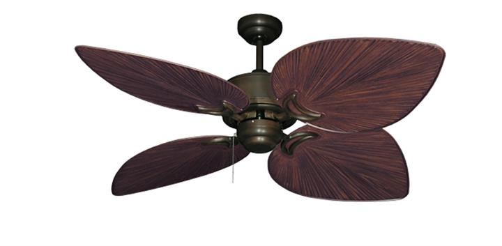 50 inch bombay oil rubbed bronze tropical outdoor ceiling fan plastic palm blades oil rubbed bronze