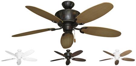 52 inch centurion tropical outdoor ceiling fan leaf wicker blades