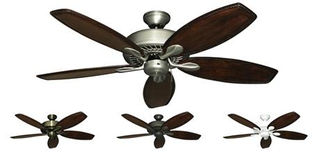 52 Inch Meridian Traditional Ceiling Fan With Arbor 550 Blades