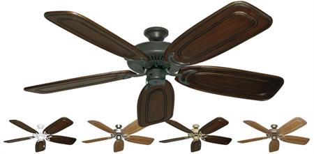Riviera Traditional Ceiling Fan w/ 58