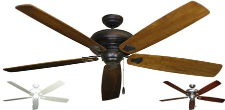 Gulf Coast - Tiara Contemporary Ceiling Fan w/ 72