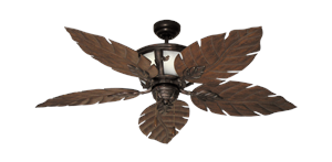 Gulf Coast Fans - Venetian Tropical Ceiling Fan w/ 52