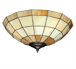 Caramel Bowl 183 Ceiling Fan Light - The Tropical Fan Company