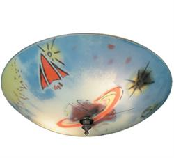 Spaceship 197 Ceiling Fan Light -  The Tropical Fan Company