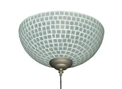265 Frost Tile Bowl Light
