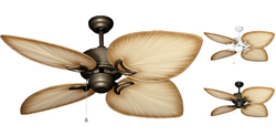 Gulf Coast - Bombay Tropical Outdoor Ceiling Fan - 52