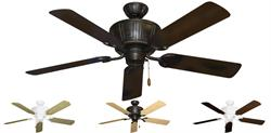 Gulf Coast - Centurion Decorative Outdoor Ceiling Fan w/ 52