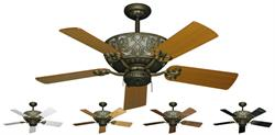 Excalibur Traditional Ceiling Fan w/ 44