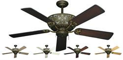 Excalibur Traditional Ceiling Fan w/ 52