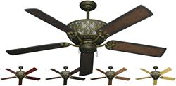 Excalibur Traditional Ceiling Fan w/ 56