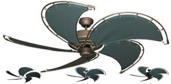 Gulf Coast - Nautical Raindance Ceiling Fan w/ 52