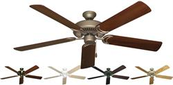 Gulf Coast - Riviera Traditional Ceiling Fan w/ 56