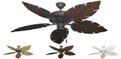 Raindance Outdoor Tropical Ceiling Fan w/ 52