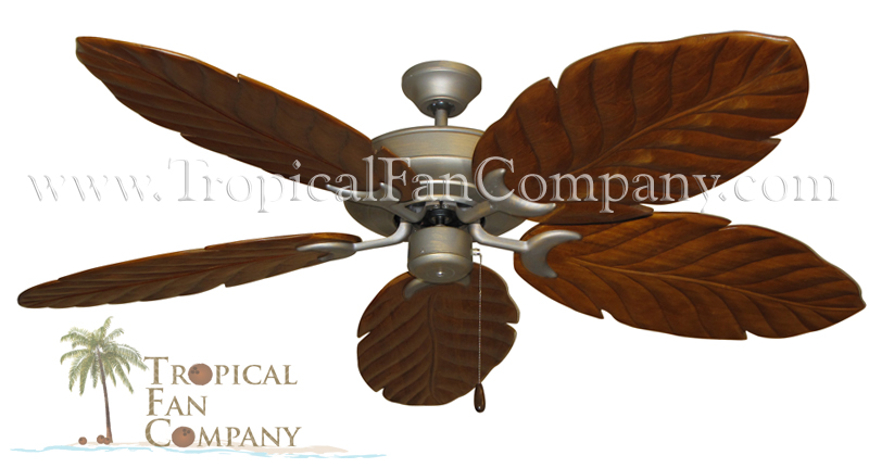 Raindance Ceiling Fan with Cherry Arbor 100 Blades