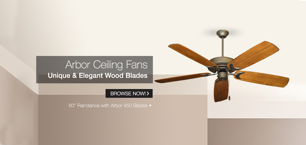 Arbor Ceiling Fans - Tropical Fan Company