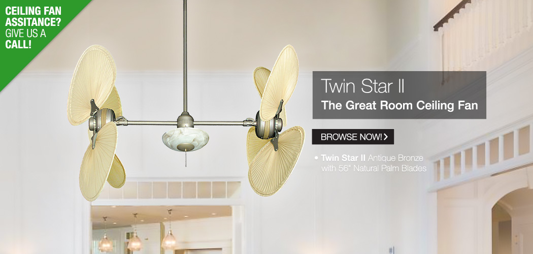 Modern Ceiling Fans - Tropical Fan Company