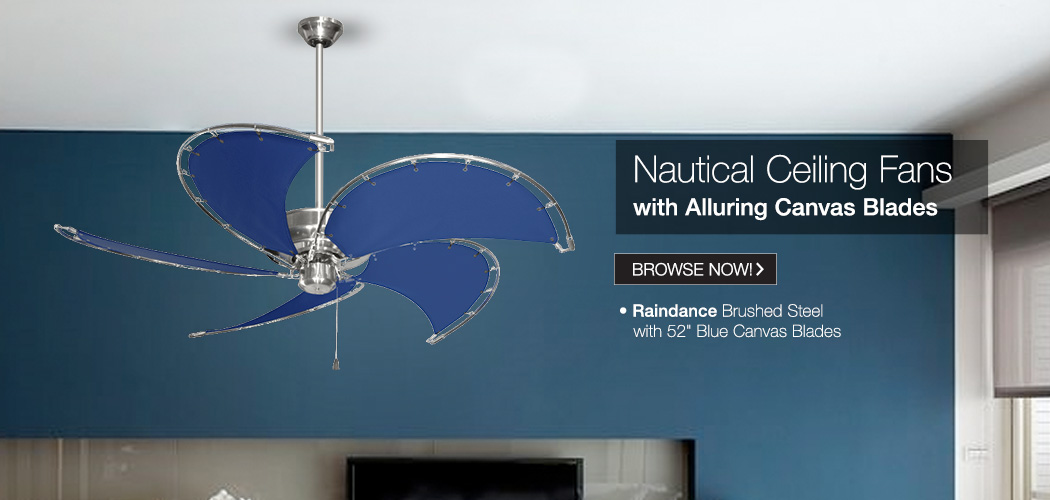 Nautical Ceiling Fans - Tropical Fan Company