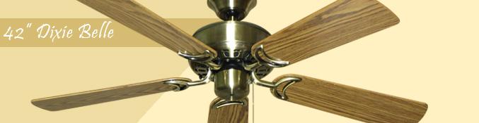 42 Dixie Belle Gulf Coast Ceiling Fan