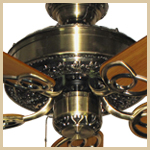 Renaissance Traditional Ceiling Fan