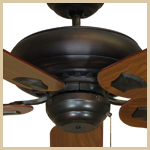 Tiara Traditional Ceiling Fan