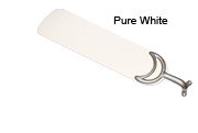 60 inch outdoor blades pure white
