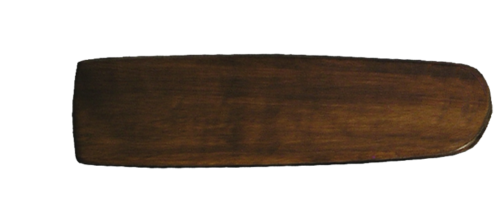 Arbor 425 Dark Walnut - 52 inch hand crafted wood blade