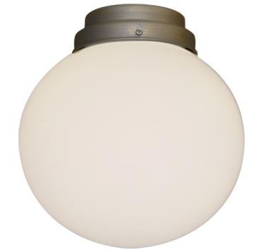111 Round Schoolhouse Ceiling Fan Light