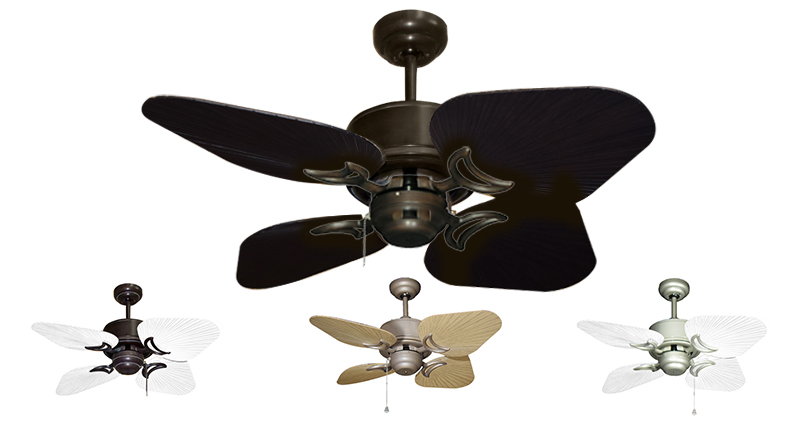 35 Inch Bombay Outdoor Tropical Ceiling Fan