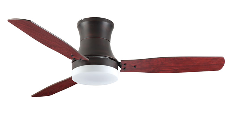 "Troposair 52"" Modernaire Oil Rubbed Bronze with Cherry Blades"