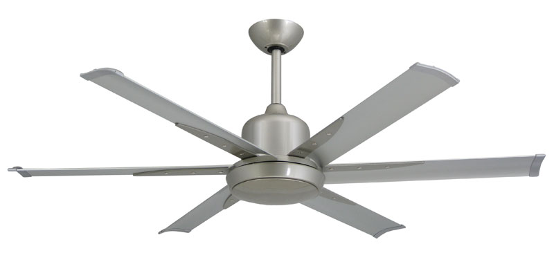 Troposair 52 Inch Titan Dc 6 Ceiling Fan In Pure White