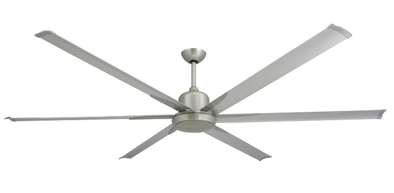 Titan 84 Brushed Nickel Ceiling Fan