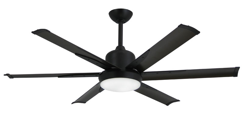 "Titan 52"" Oil Rubbed Bronze Ceiling Fan with Light"