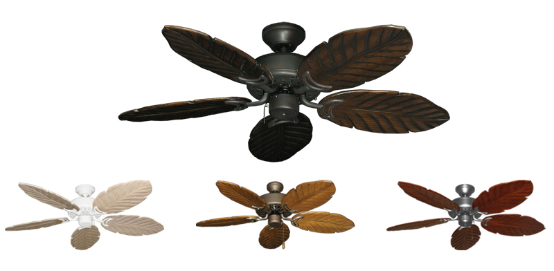 42 Inch Dixie Belle Small Outdoor Tropical Ceiling Fan