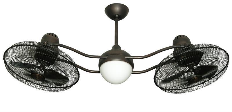 Duet Oscillating Dual Motor Ceiling Fan