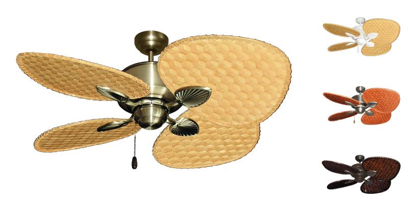 Palm Breeze Tropical Ceiling Fan