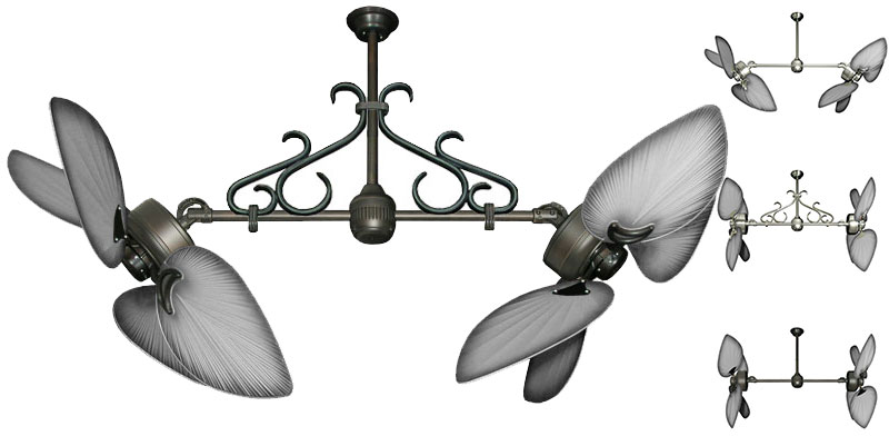 Twin Star Iii Double Ceiling Fan