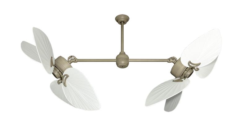 50 inch Twin Star III Double Ceiling Fan - Bombay Pure ...