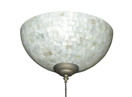 260 Cream Tile Bowl Light