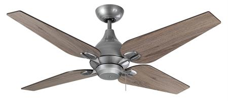 50 inch Reno Ceiling Fan- Brushed Nickel by TroposAir