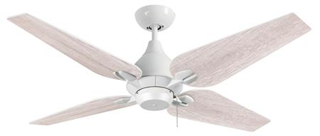 50 inch Reno Ceiling Fan- Pure White by TroposAir